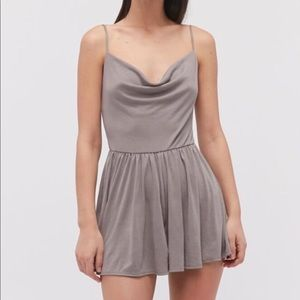 Urban Outfitters Mallory Cowl Neck Romper